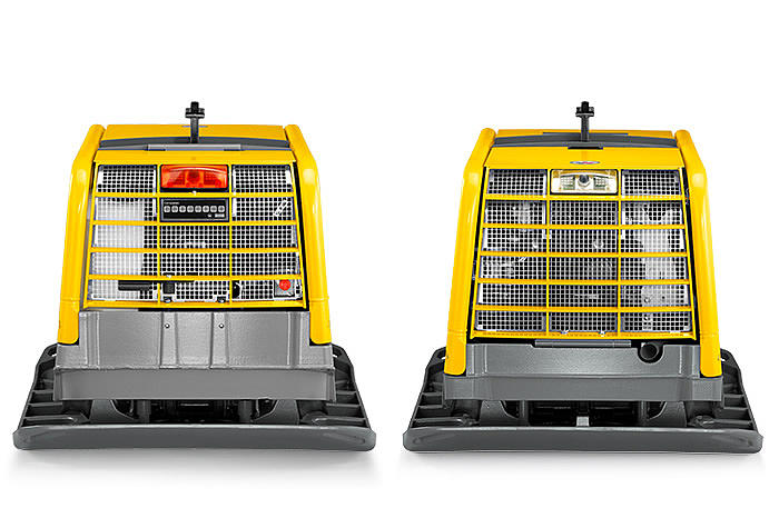 DPU110r front and rear view