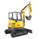 Tracked Zero Tail Excavators - EZ36
