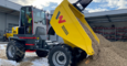 wheel dumper DW90 w/ cabine in action