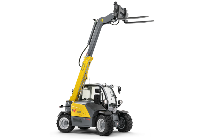 Wacker Neuson telehandler TH412 studio view 1