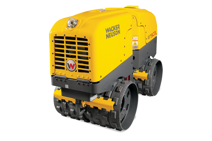 The smart remote-controlled vibratory trench roller