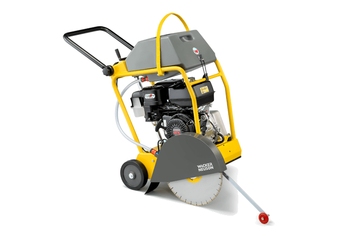 The best performance in cutting asphalt and concrete