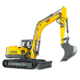 Tracked Conventional Tail Excavators - ET145