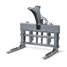 Attachment tools for Telehandlers - Logging fork - fork shape