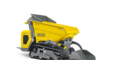 Wacker Neuson electric track dumper DT10e with self loading device